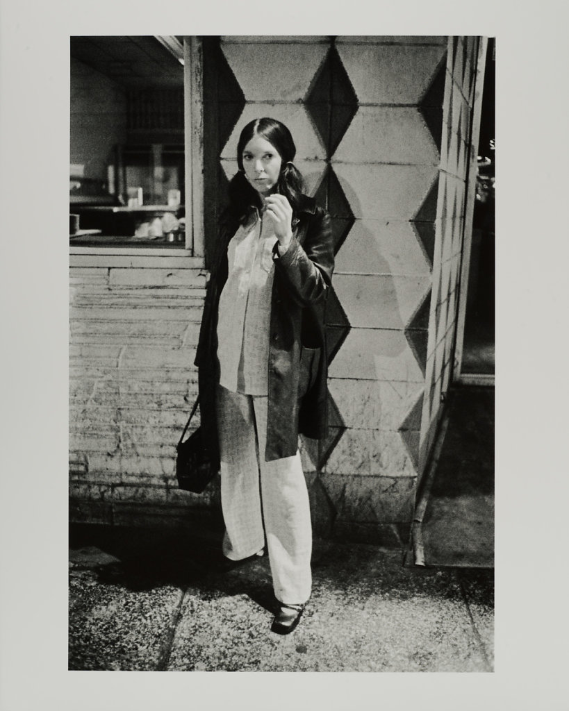 Hooker, 3AM, Washington Street, Boston, The Combat Zone, 1969