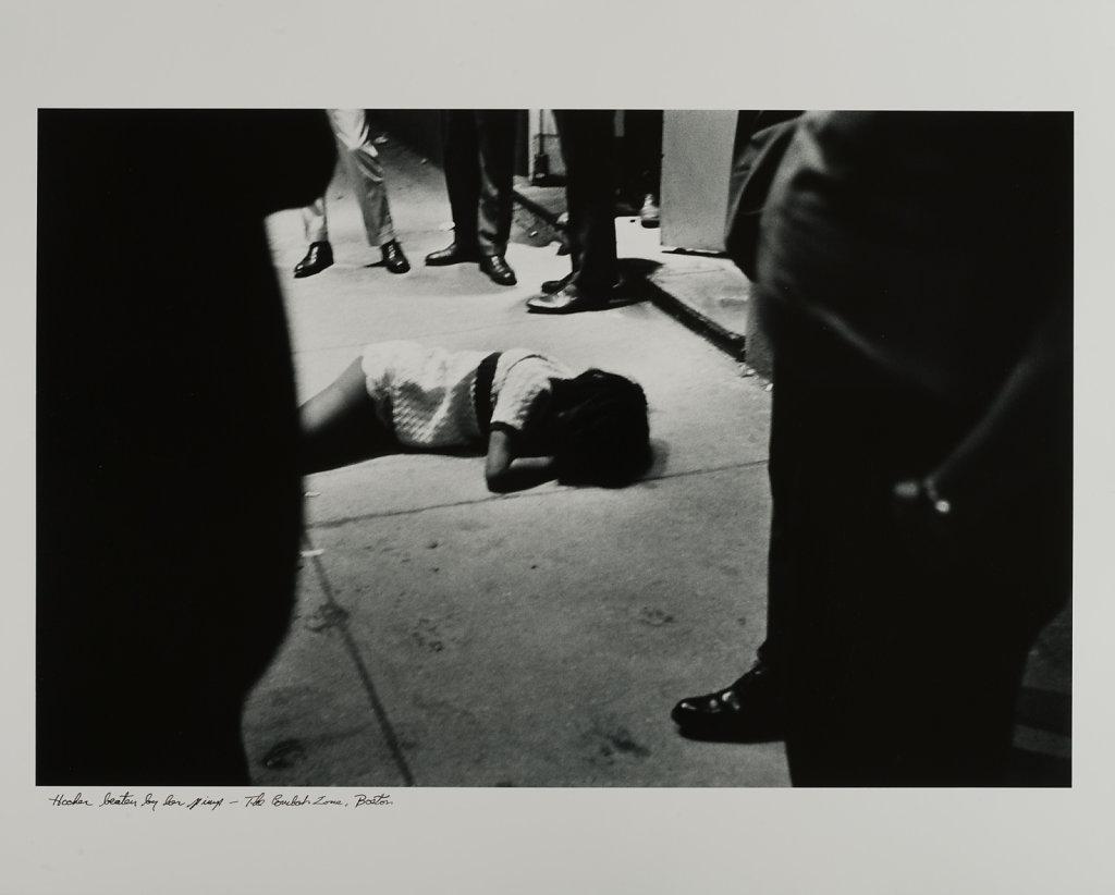 Hooker Beaten By Her Pimp, The Combat Zone, Washington Street, B