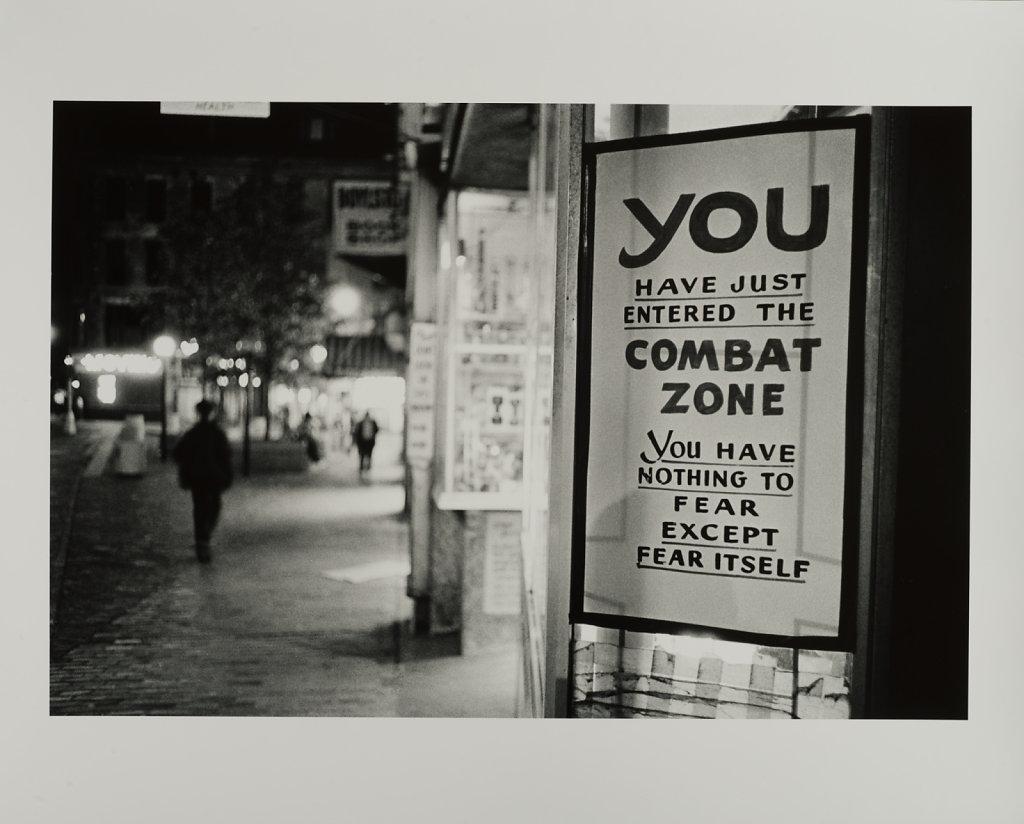 The Combat Zone, Boston, MA, 1970