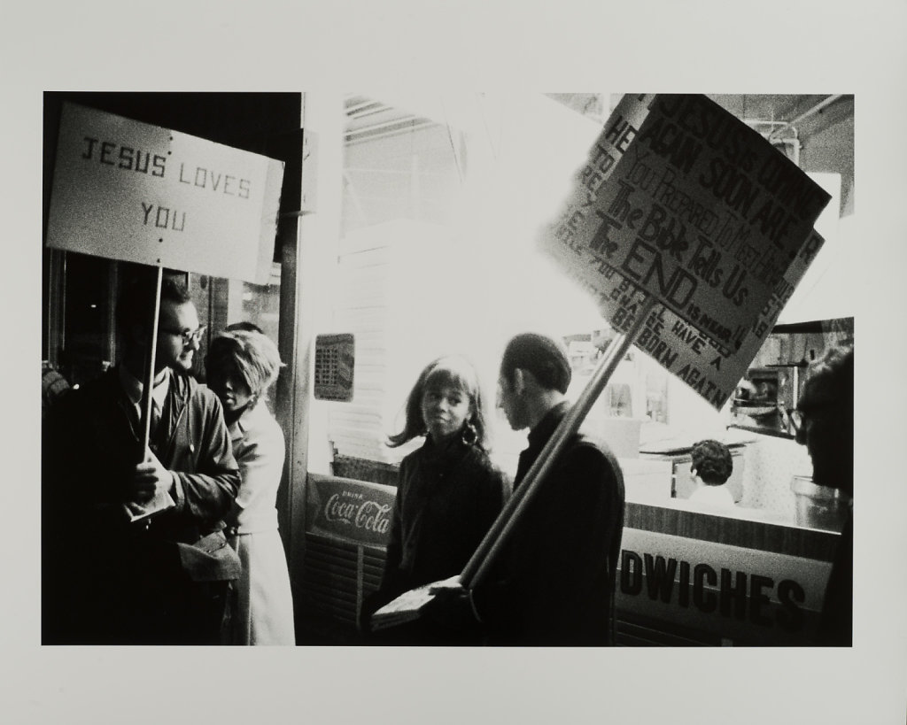 The Combat Zone, Washington Street, 2.30AM, Boston, MA,1968