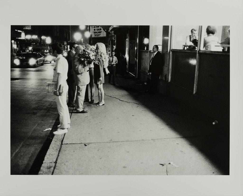 The Combat Zone, Washington Street, 3AM, Boston, MA,1969