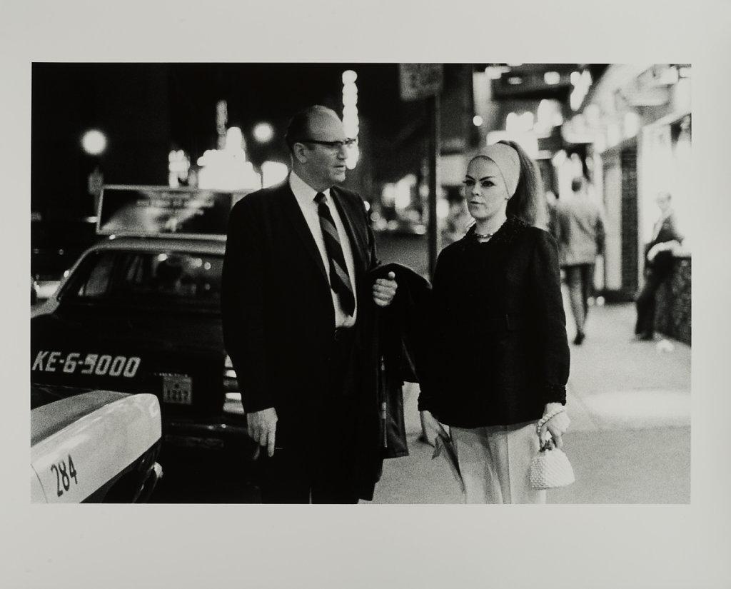 The Combat Zone, Washington Street, 3AM, Boston, MA,1968