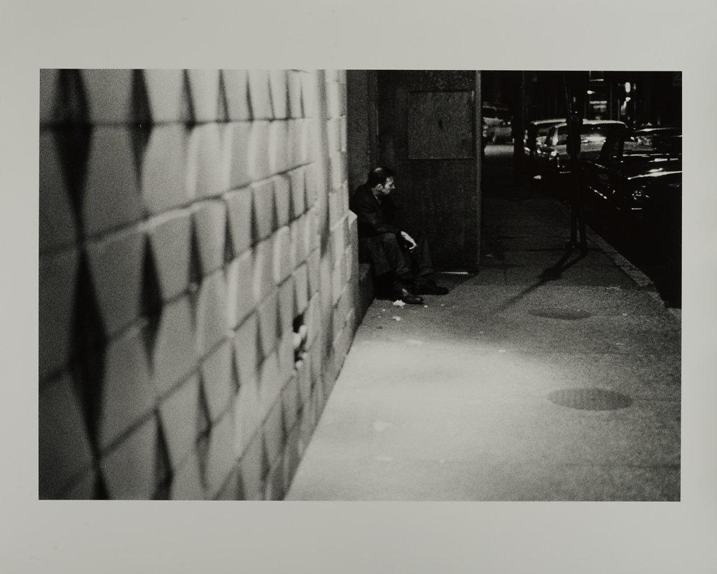 The Combat Zone, Washington Street, 3AM,Boston, MA,1968