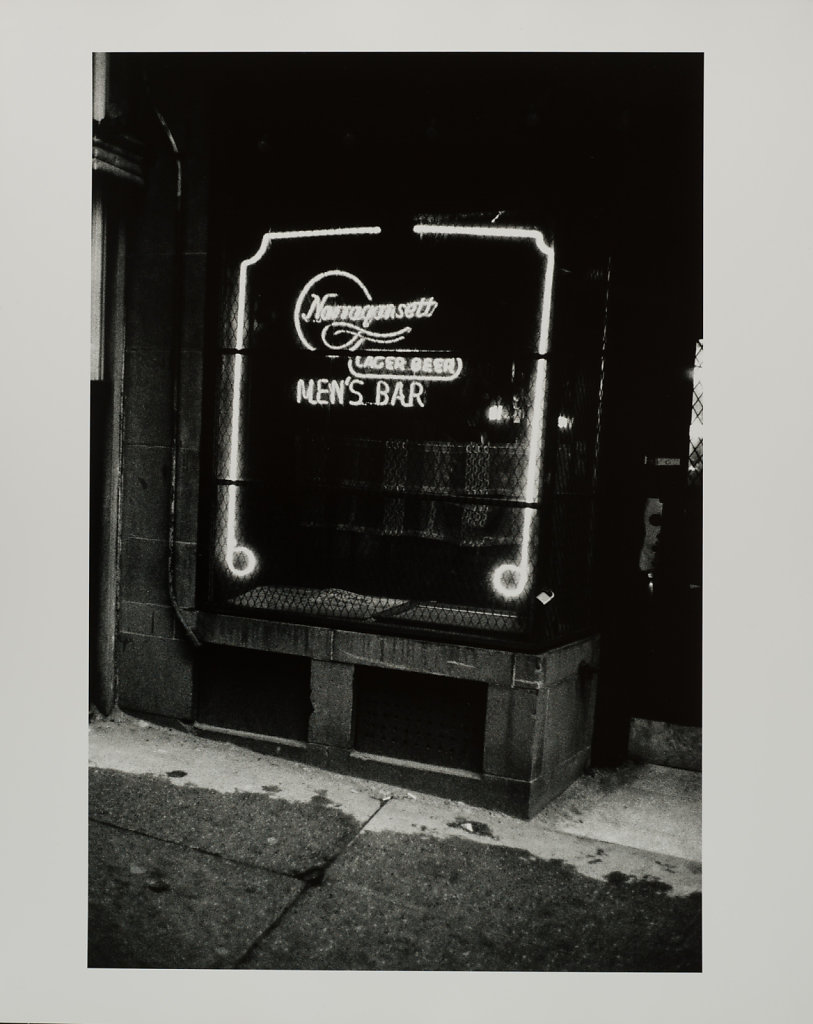 Hank's Mens Bar, Boston MA, 1974