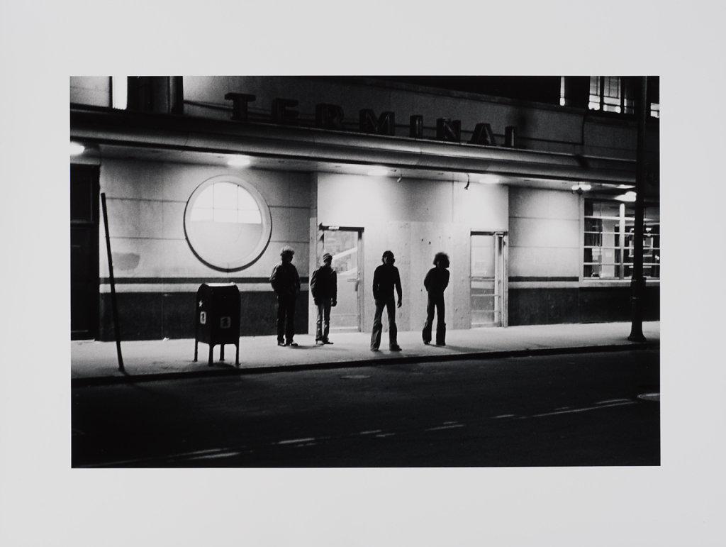 Boston, Greyhound Bus Station, 1969