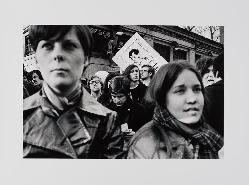 Anti War Demo, Boston 1973/74