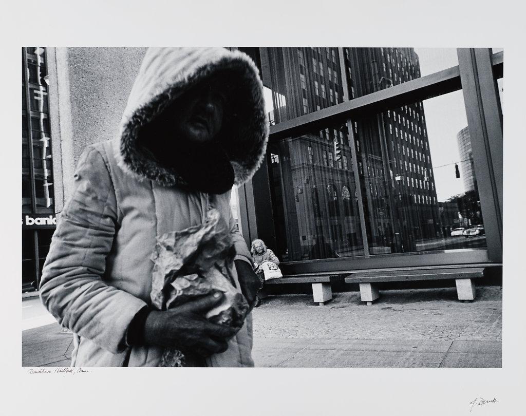 Downtown Hartford, Conn, 1985