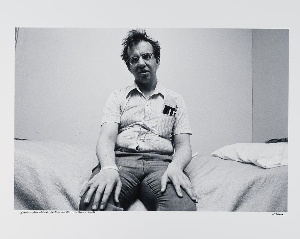 Gordon, Long Island Shelter for the Homeless, Boston, 1983