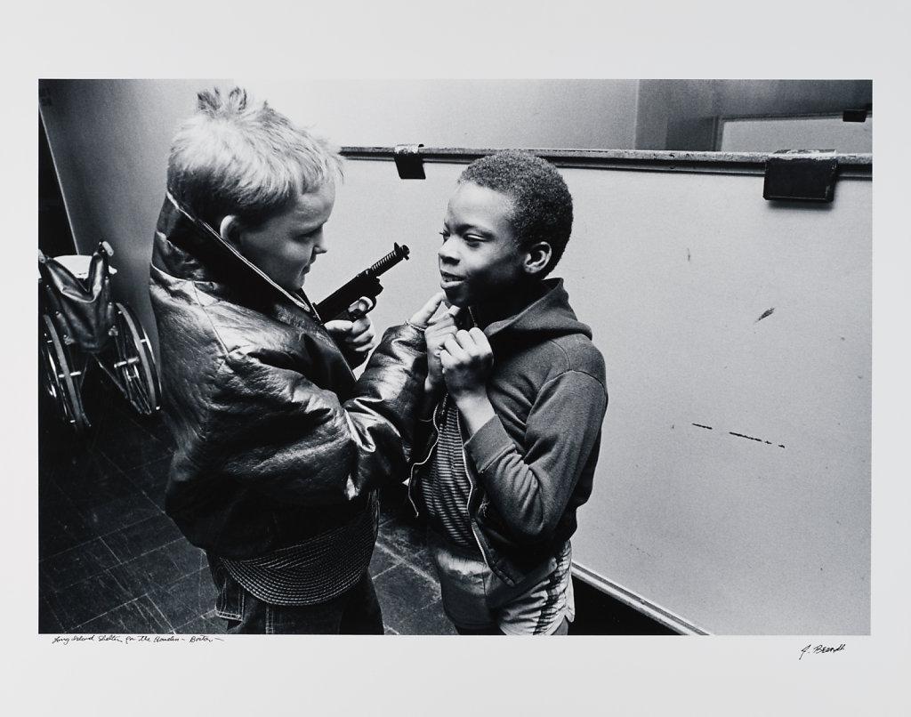 Long Island Shelter for the homeless, Boston, 1983