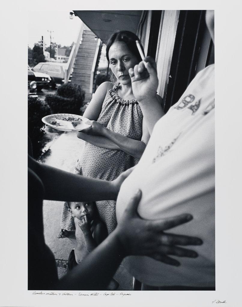 Homeless Mother&Children;, Samuri Motel, Cape Cod, 1983