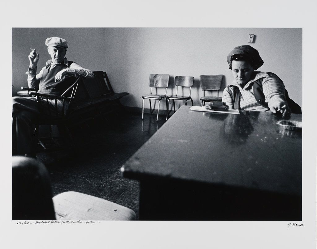 Day Room, Long Island shelter for the Homeless, Boston, 1983
