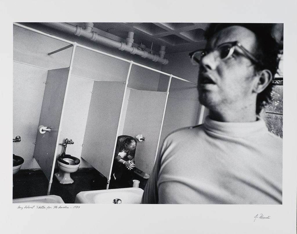 Long Island Shelter for the Homeless, Boston, 1984