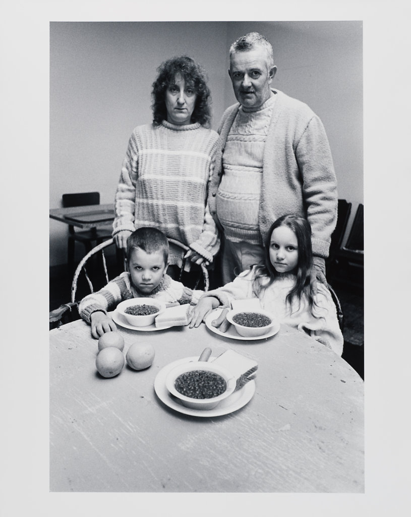 """""""The father said, OK, we've had some bad luck, but we'll make it somewhere"""", Long Island Shelter for the Homeless, Boston, 1983"""