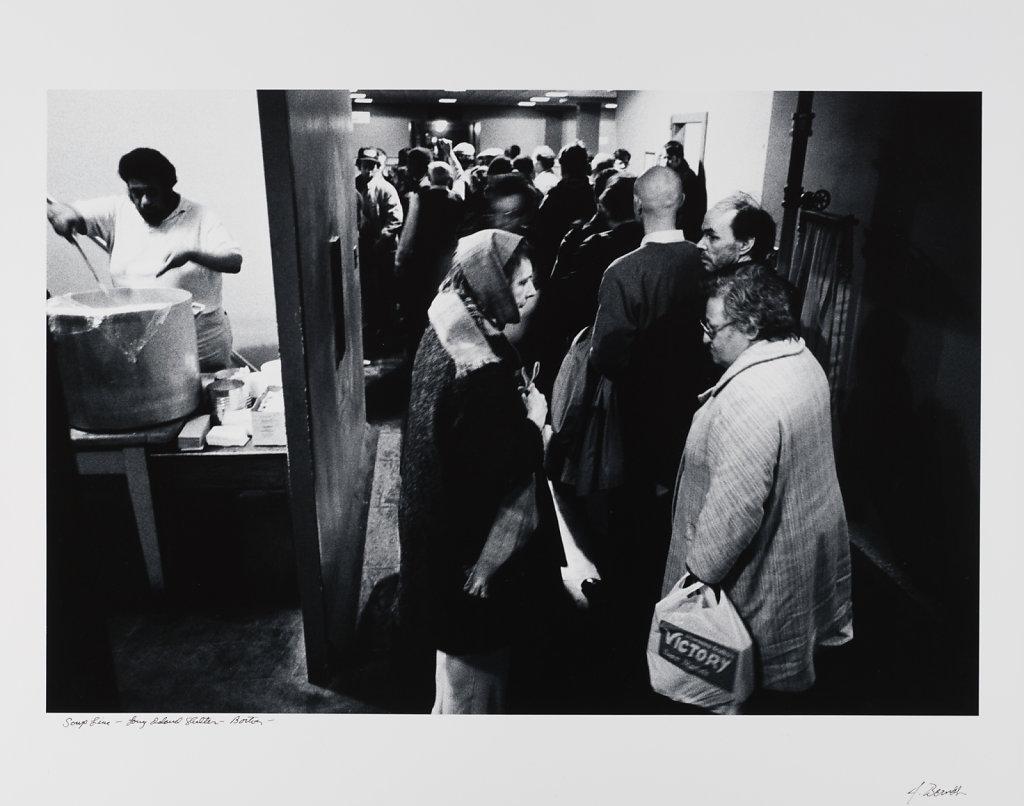 Long Island Shelter, Boston, 1983