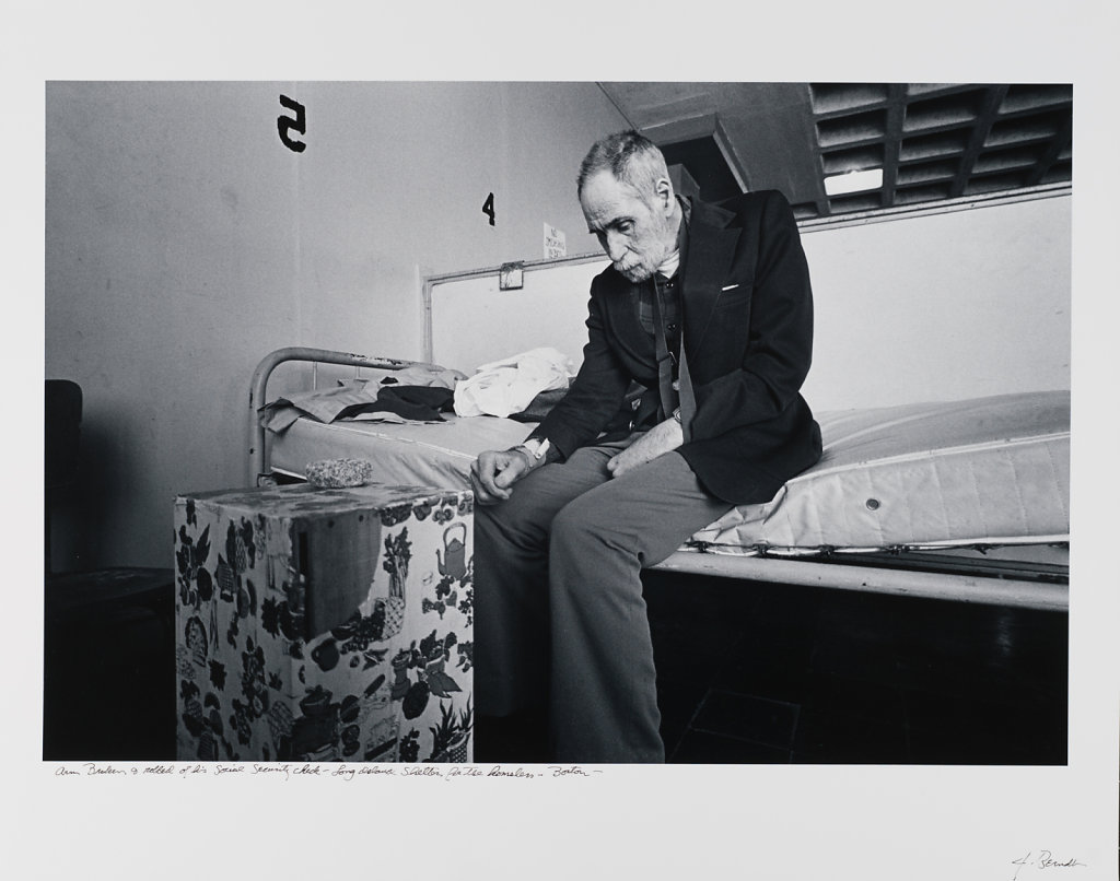 Broken & robbed of his Social Security Card, Long Island Shelter for the Homeless,1993