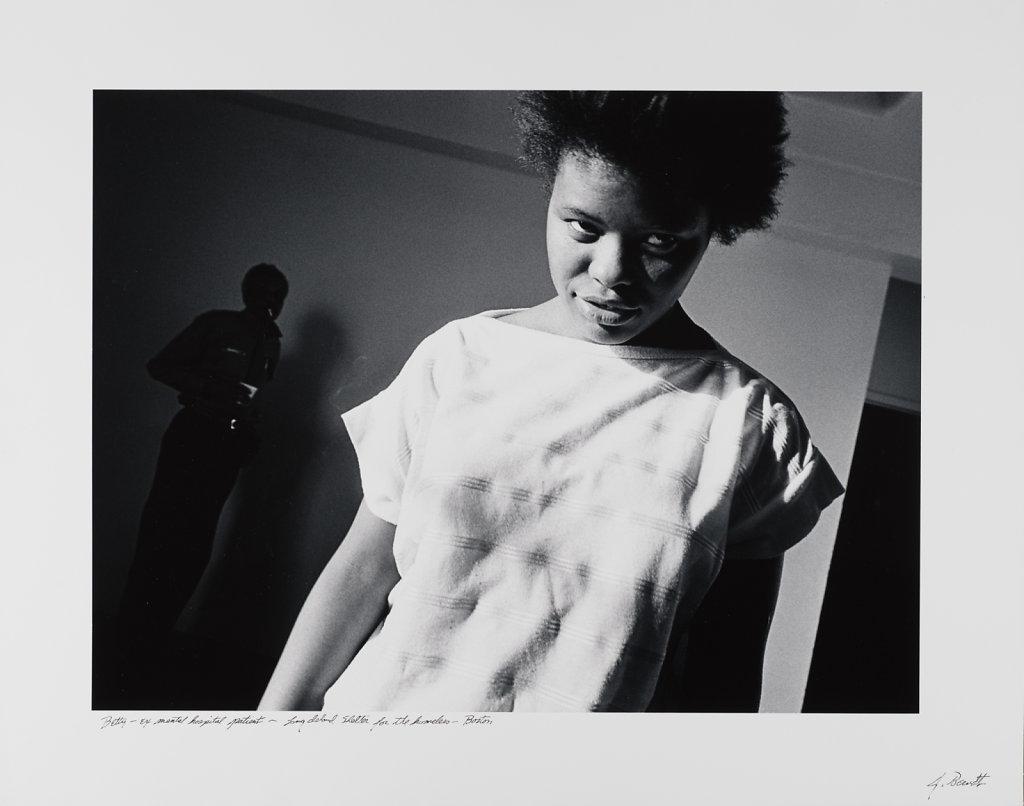 Betty-ex mental hospital patient, Long Island Shelter, Boston, 1983