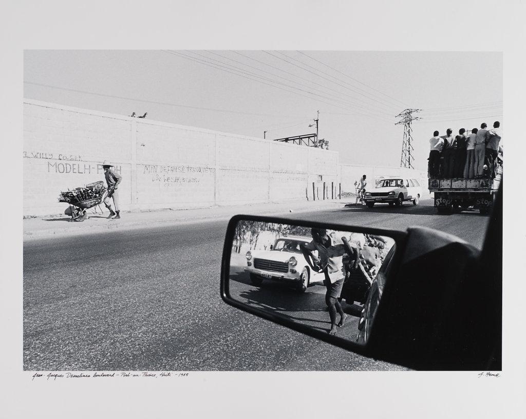 Jean Jacques Dessalines Boulevard-Port-au Prince, Haiti, 1988