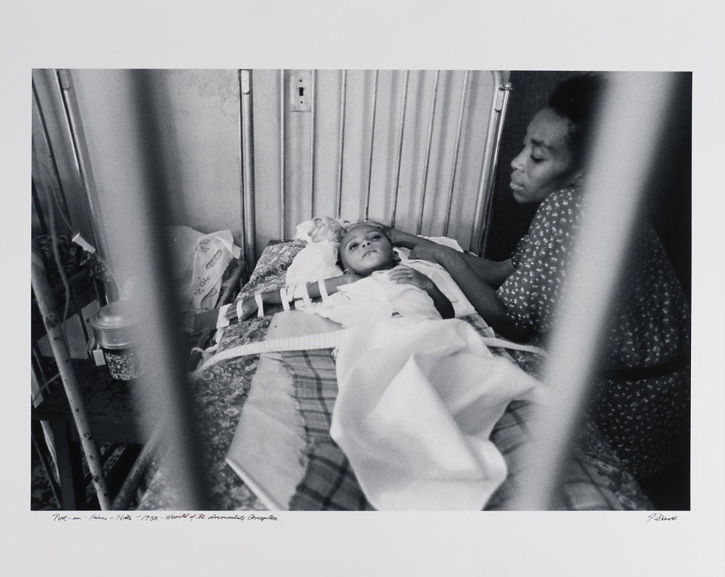 Hospital of drug relate conception, Port-au Prince, Haiti,1988