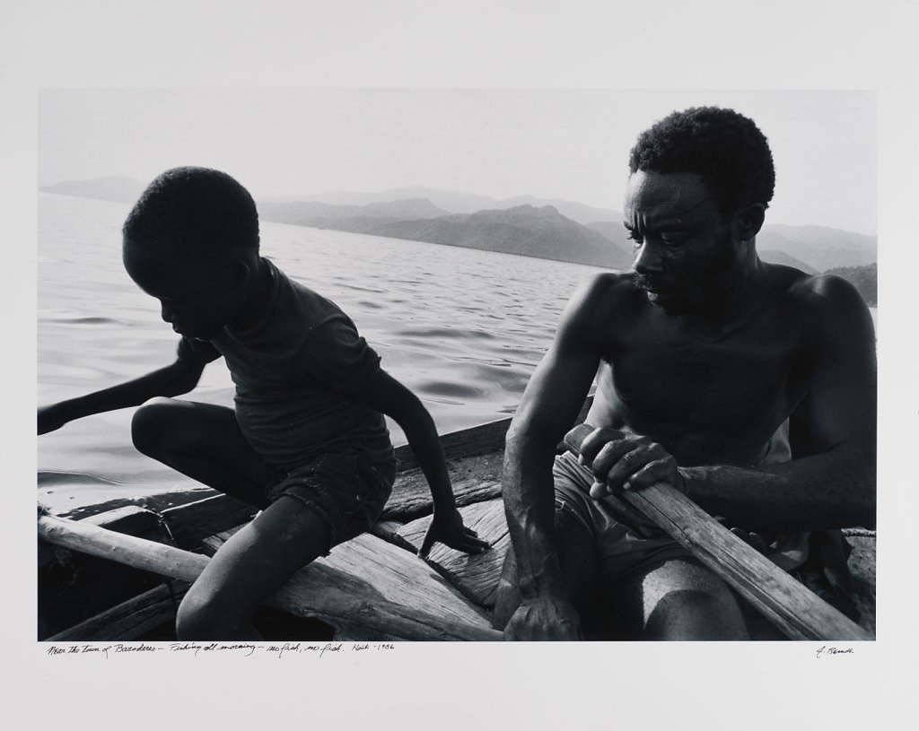 Near the town of Baroderas-Fishing all morning-no fish, no fish, Haiti, 1986