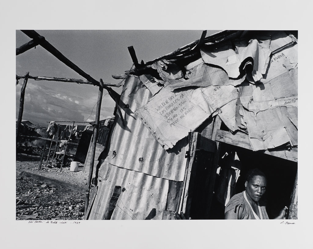 Cité Soleil, Port-au-Prince, Haiti, 1989