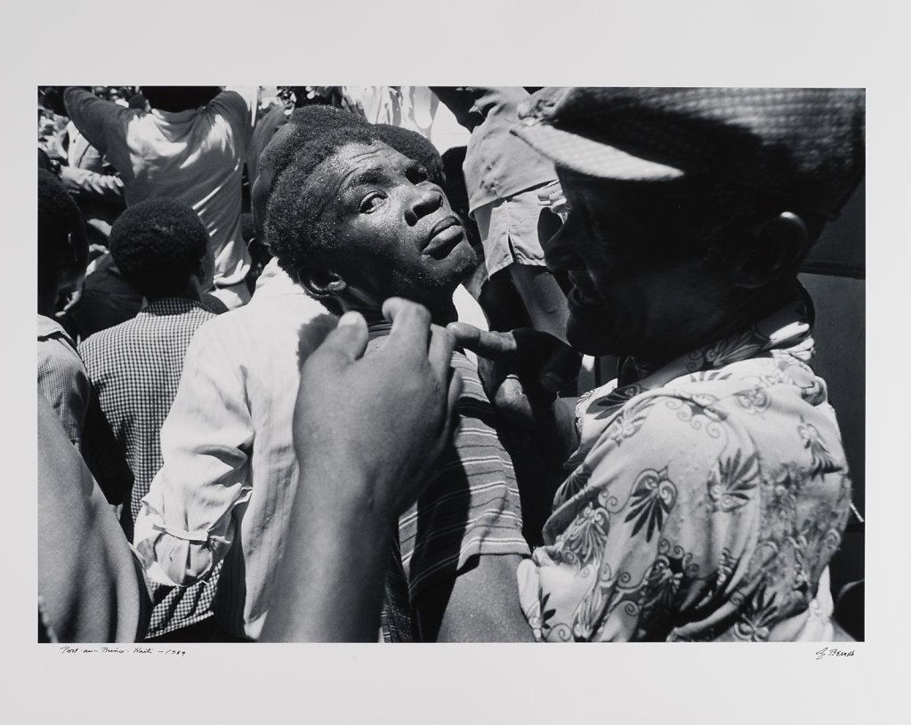 Port-au -Prince, Haiti, 1989