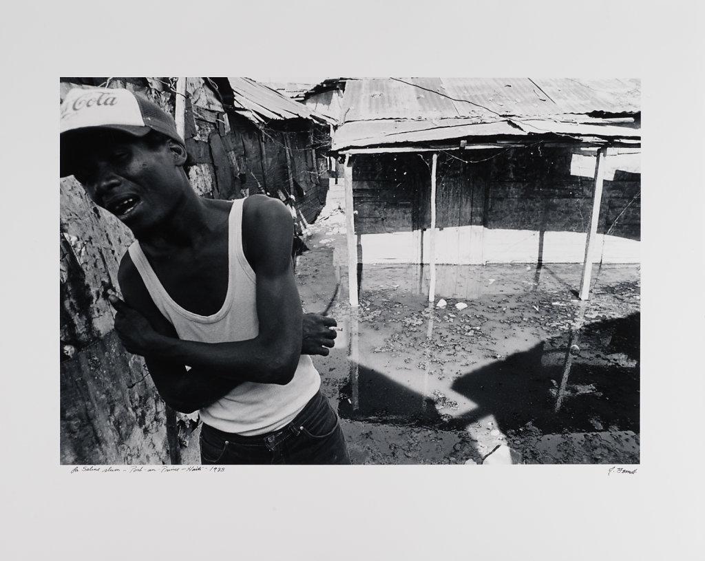 Port-au -Prince, La Saline Slum,  Haiti, 1988
