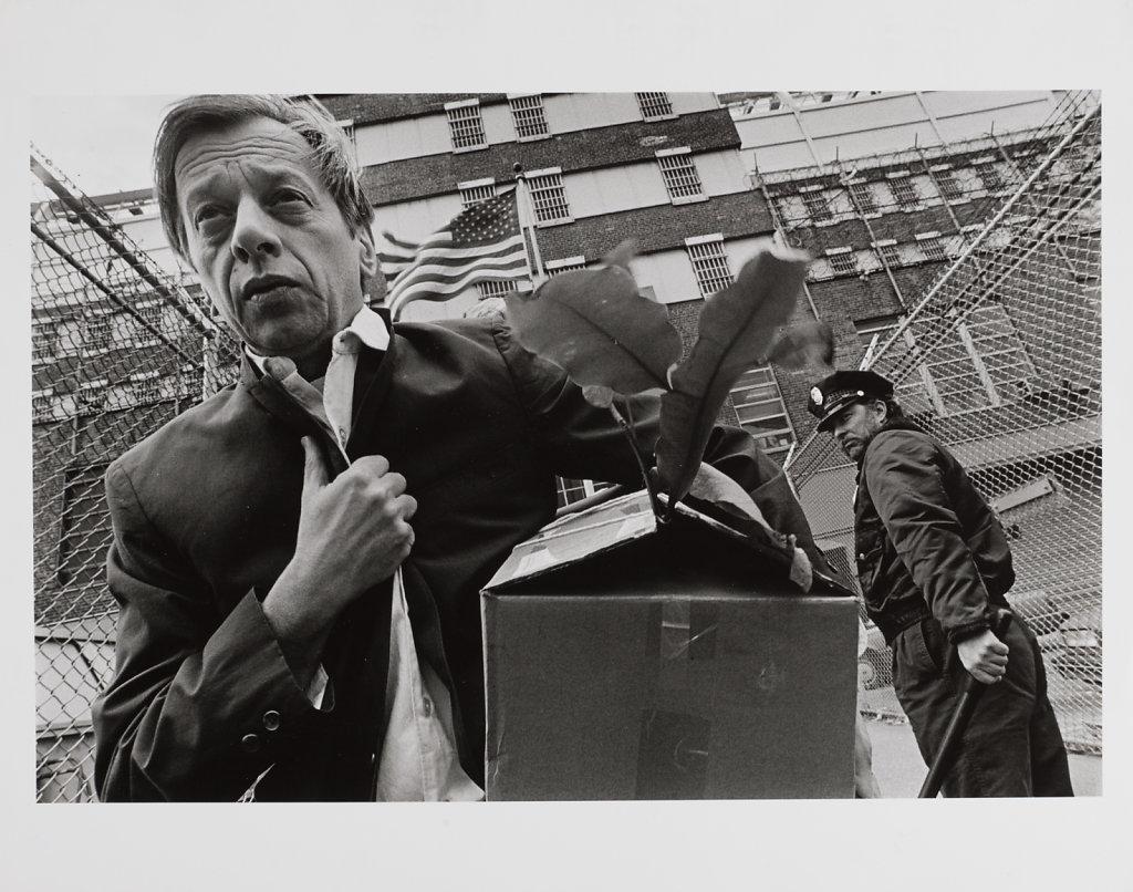 Eugene Richards, Jerry at work, New York City, 1983